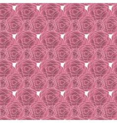 Pink Rose pattern vector image