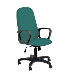 Office armchair vector