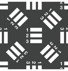 Numbered list pattern vector