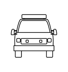 Ambulance icon medical and health care vector