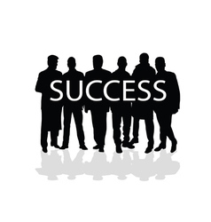 Success people vector