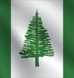 Norfolk island flag vector