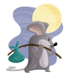 Hobo Mouse vector image