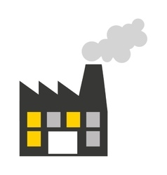 Plant factory building icon vector