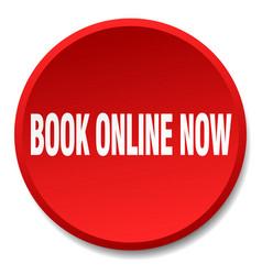 Book online now vector