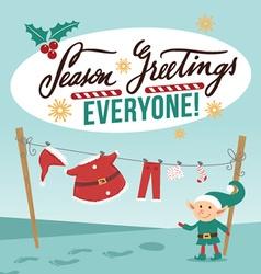 Christmas celebration design vector