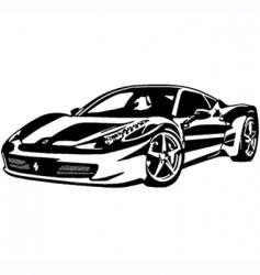 Ferrari 458 italia vector