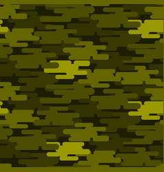 Khaki military camouflage seamless pattern army vector