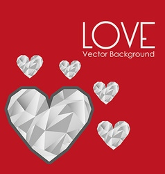 Love card design vector