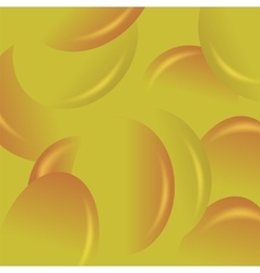 Yellow candy background vector