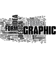 A crash course on graphic philosophy text word vector