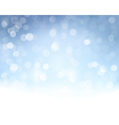 Blue white bokeh background vector