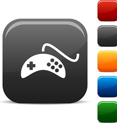 Gamepad icons vector