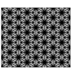 seamless traditional japanese ornament kumiko zaik vector image