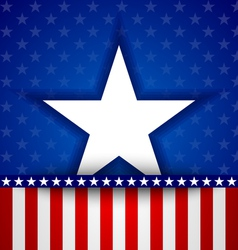 American star vector