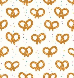 Pretzels pattern vector