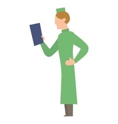 Doctor people man vector image