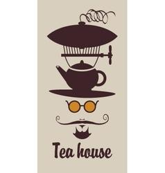 tea house vector image vector image