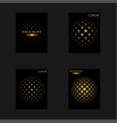 abstract cover set vector image