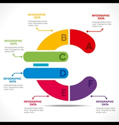 Creative euro currency symbol info-graphics design vector