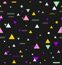 80s or 90s tile pattern vector image vector image