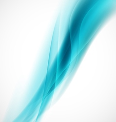 Abstract smooth flow background and space vector
