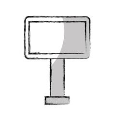 big hoarding isolated icon vector image