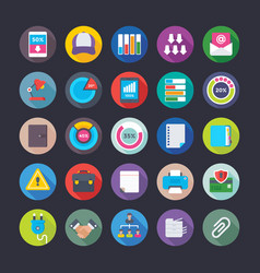 Business and office icons 12 vector