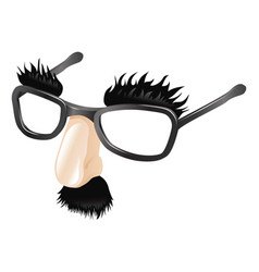 funny disguise vector image