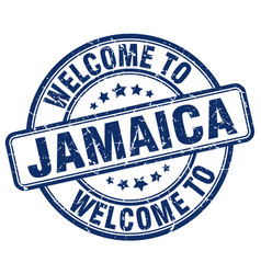 Welcome to jamaica vector