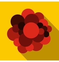 Blood cells flat icon vector