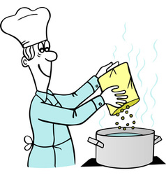 Cooking Man vector image