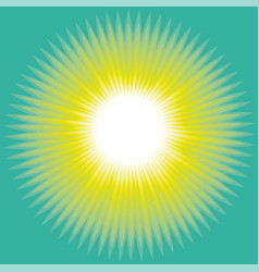 Concept sun abstract background vector