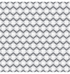Grey white flower pattern background stock vector