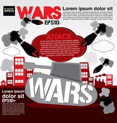 War concept eps10 vector