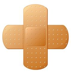 An adhesive bandage vector