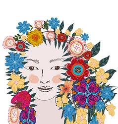 Floral soul vector