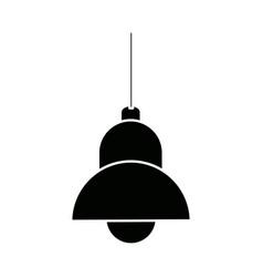Lamp bulb element of interior modern vector
