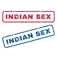 Indian sex rubber stamps vector