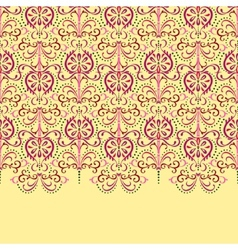Background eastern floral vector