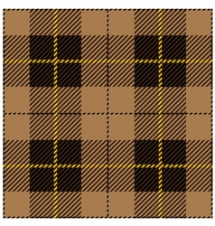 Beige Seamless Tartan Plaid Design vector image