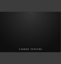 black carbon texture dark background vector image