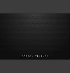 black carbon texture dark background vector image