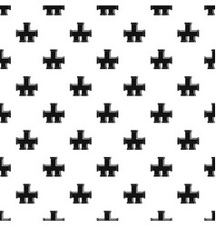 Drain system pattern vector