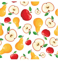 seamless kitchen background vector image
