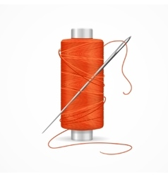 Thread Spool vector image vector image