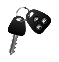 Car vehicle keys icon vector