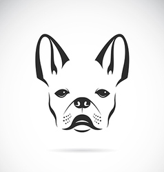 Image of an dog bulldog vector