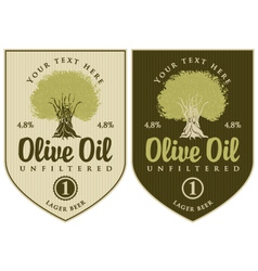 Oil olive vector