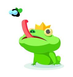 Icon frog vector
